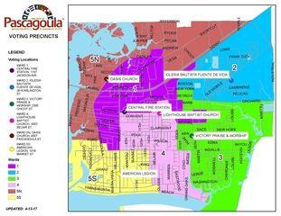 Voting Precinct & Ward Map
