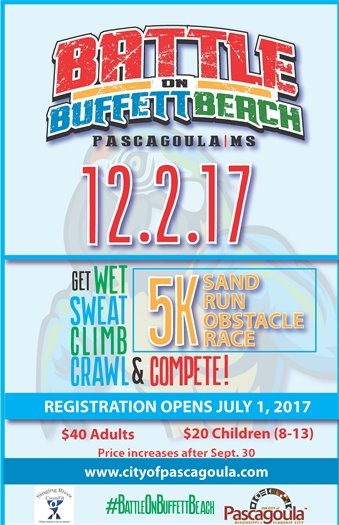 Battle on Buffett Beach flyer